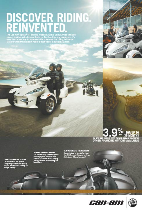can-am spyder promotions,Michigan can am spyder discounts