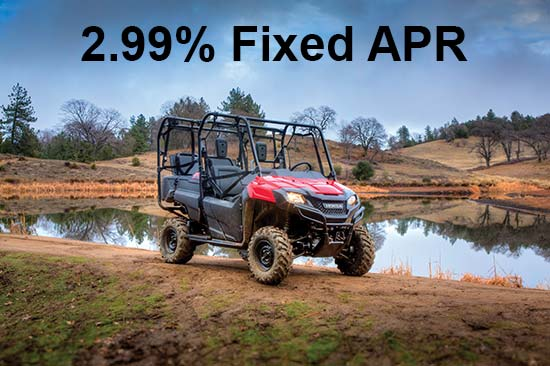 Honda 2.99% Fixed APR!