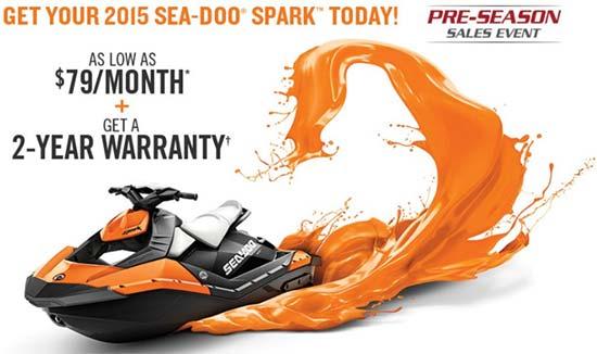 SPARK Pre-Season Sales Event!