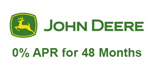 John Deere 0% APR for 48 Months*†!