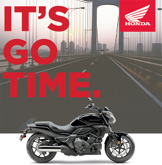 Special on Select Honda Motorcycles at Mungenast Motorsports This May