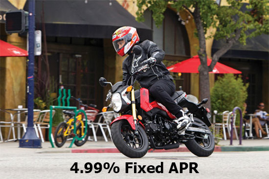 Honda 4.99% on On-Road Sport Models!