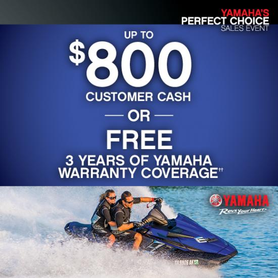 Perfect Choice - Free Up To 3 Years of Warranty Coverage!