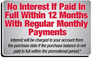 Honda Power Equipment No Interest if Paid in Full Within 12 Months!