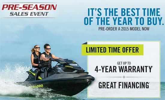 Pre-Season Sales Event!