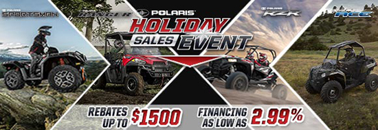 Polaris Holiday Sales Event!