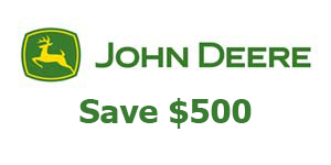 John Deere Save $500 on Selected New QuikTrak™ Mowers!