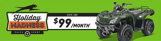 Arctic Cat Holiday Madness Sales Event!