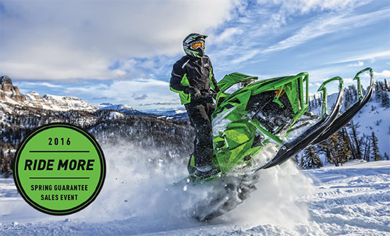 Ride More Spring Guarantee Sales Event!
