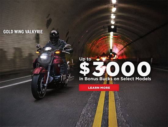 Honda Up to $3,000 in Bonus Bucks!