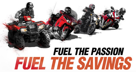 Honda Fuel the Passion, Fuel the Savings - Bonus Bucks!