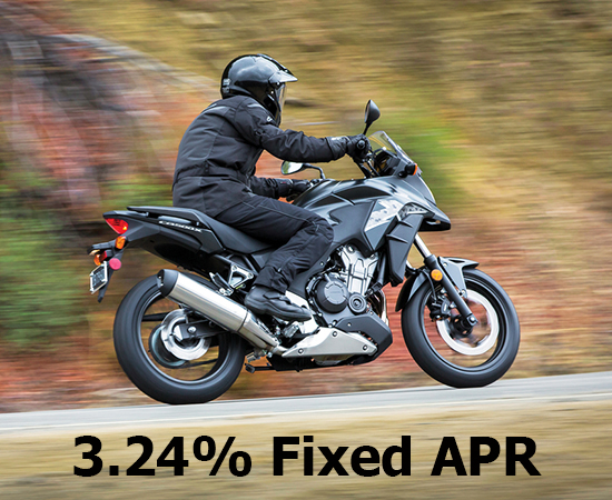 Honda 3.24% on Select On-Road Models!