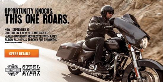 Harley-Davidson Steel Permission Event!
