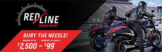 Victory Redline Sales Event