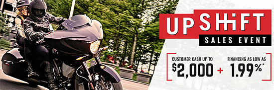 Victory UpShift Sales Event!