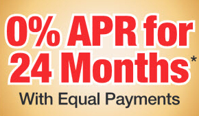 Honda Power Equipment 0% APR for 24 Months with Equal Payments!