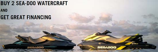 Buy 2 Sea-Doo Watercraft!