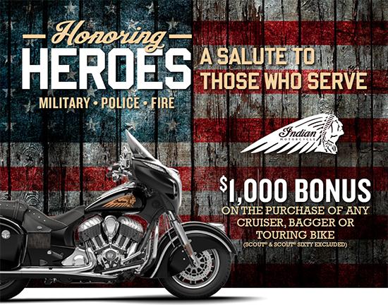 Indian Honoring Heroes