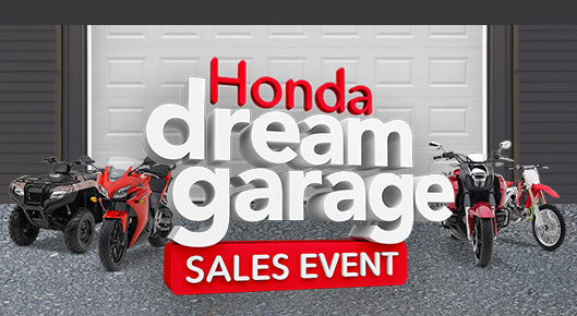 Oem promotions running at honda motorcycles of shelby for Garage ad agde