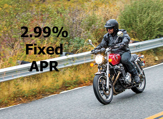 Honda 2.99% on Select On-Road Models!