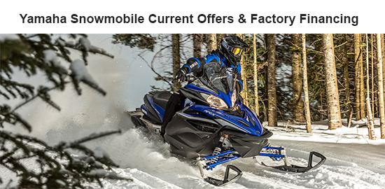 Yamaha Motor Corp., USA 3.99% APR for 36 Months!