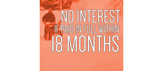 Ariens USA No Interest If Paid In Full Within 18 Months