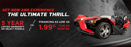 Polaris 1.99% for 60 Months!