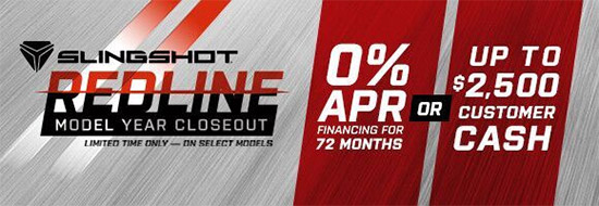 Slingshot Redline Model Year Closeout