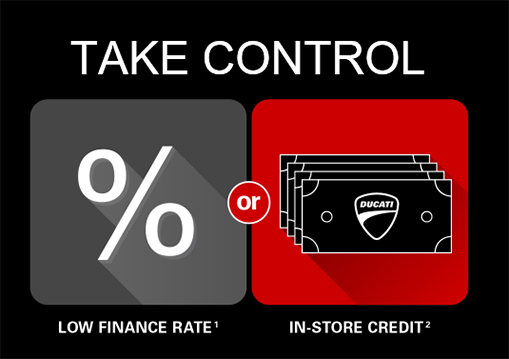 Take Control - Two Ways to Join the Ducati Family!