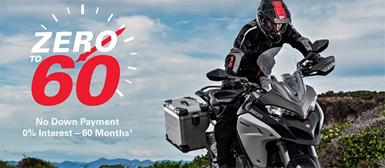Zero - Sixty Finance Offers From Ducati!