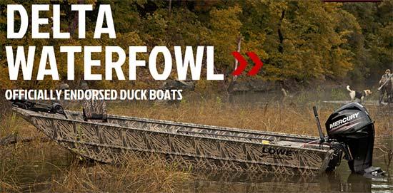 Lowe Delta Waterfowl Rebate!