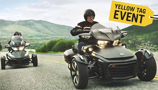 Can-Am Yellow Tag Event!