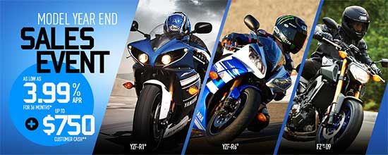 Model Year End Sales Event - Sport!