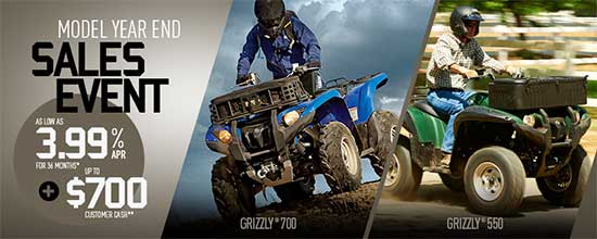 Model Year End Sales Event - Utility!