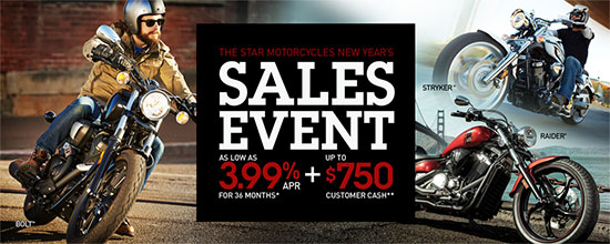 New Year's Sales Event - Star!