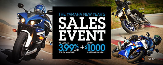 New Year's Sales Event - Street