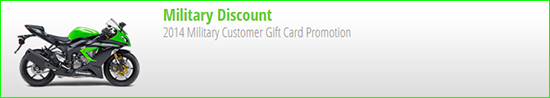 2014 Military Customer Gift Card Promotion!