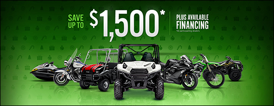 Go Green For The Holidays Sales Event - Save Up To $1,500* Plus Available Financing (*at participating dealers)!
