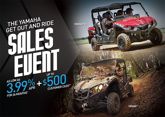 Get Out and Ride Sales Event!