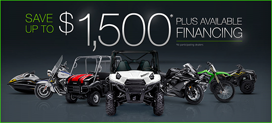 Fall Sales Event - Save Up to $1,500* Plus Available Financing (*at participating dealers)!