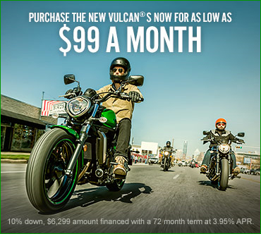 Kawasaki 2015 Vulcan® S Offer!