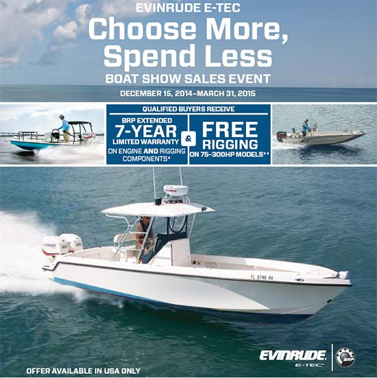 Boat Show Sales Event - Free Rigging!