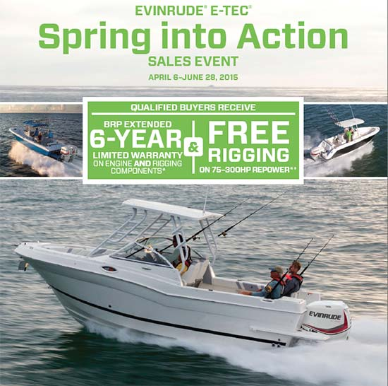 Spring Into Action Sales Event!