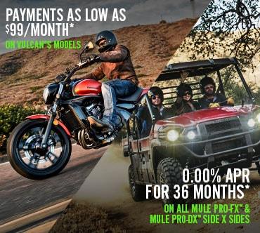 Kawasaki Mule PRO-FX™ and Mule PRO-DX™ Offer!