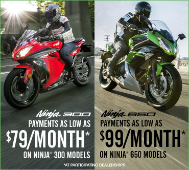 Kawasaki Ninja® 650 Offer!