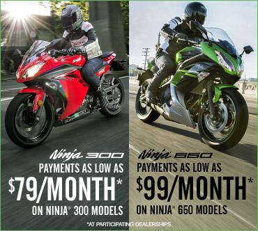 Kawasaki Ninja® 650 Offer!