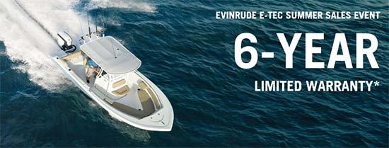 Evinrude E-TEC Summer Sales Event!