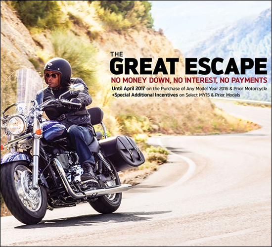 Triumph The Great Escape!