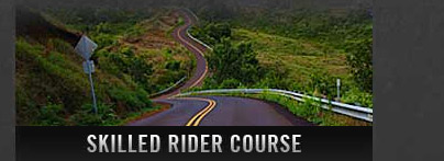 Motorcycle skilled rider course