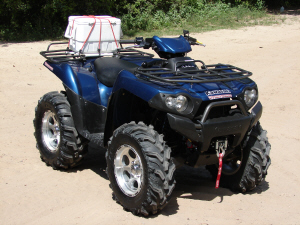 Kawasaki brute force 750 hp